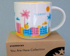 MUG Starbucks FLORIDA You Are Here Collection 2013 New
