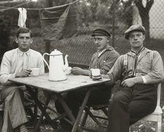 August Sander. Fairground Workers. 1926-32