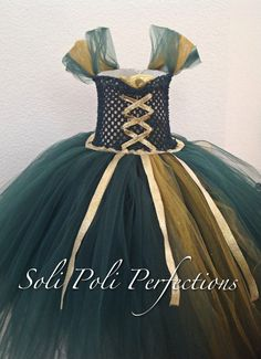Princess Merida Inspired Tutu Dress by SoliPoliPerfections on Etsy, $38.00