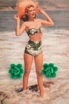 Greer Garson ♥ Élégante fleur solitaire saura attirer les amoureux de l'émeraude vers vous.   Elegant solitary flower will know how to attract the emerald lovers.