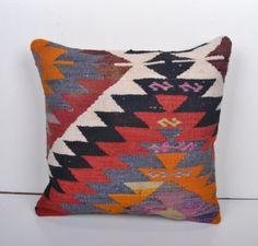 16x16'ethnic wool sham  pillow Wool  Pillow sofa by arastabazaar