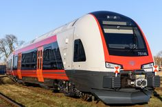 Rolling stock manufacturer Stadler will showcase the FLIRT electrical multiple units for Hungarian operator GYSEV and the Norwegian state railway at TRAKO. Rail Transport, Rolling Stock, Commercial Vehicle, Flirting, Norway, Transportation, The Unit, Vehicles, Trains