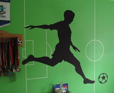 soccer wall decals - Google Search
