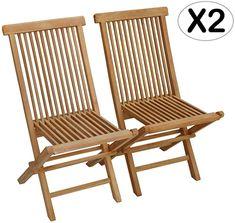 Produktbeschreibung Satz von x4 Stühlen aus Teak, natürlich getönt. Elegant und komfortabel, passen diese Stühle in jede Art von Ort und Raum, sowohl drinnen als auch draußen. Dank ihres modernen und zeitlosen Designs werden sie Ihren Salon, Ihren Garten, Ihre Terrasse, Ihre Veranda oder Ihren Balkon verschönern. Diese Stühle werden auch Ihren Tisch im Freien ergänzen, um Ihre Freunde bei Mahlzeiten zu empfangen. Teak ist ein robustes und nachhaltiges Material, das im Wesentlichen für den… Lombok, Outdoor Chairs, Outdoor Furniture, Outdoor Decor, Café Exterior, Table Teck, Folding Chair, Modern, Patio