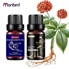 Manbird Natural Herbal Ingredient Penis Enlargement Oils Cream Lubricant Men Increase Big Dick Size Growth Erection Thickening AlaaExpress is the leading online shopping Essential Oils For Massage, Natural Essential Oils, Bodily Functions, Growth Hormone, Male Enhancement, Herbalism, Cream, Big, Men Health