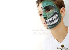 Maquiagem Artistica Incrível Hulk