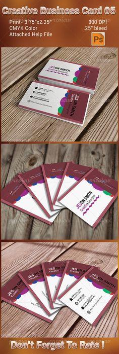 Creative Besiness Card 05