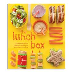 the lunch box cookbook. Maybe there is something in there that my son will eat for lunch:) Toddler Meals, Kids Meals, Kids Lunch For School, School Lunches, Kid Lunches, Healthy Lunches, Think Food, Lunch Snacks, Cooking With Kids