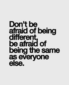 not afraid- just not... bold?