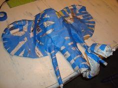 Ellis the Elephant Safari Party, Safari Theme, Diy Paper, Paper Art, Paper Crafts, Animal Masks, Animal Heads, Vbs Crafts, Arts And Crafts