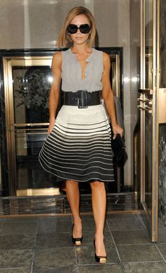 VB Victoria Beckham. Too skinny. But I love her style.