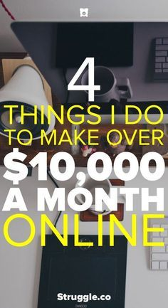 Anyone can make money online from home or wherever they want. Here are the 4 ways that I make money from home with my websites.
