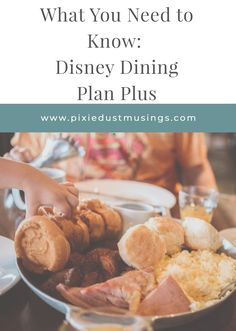 What you need to know about the new Disney Dining Plan Plus! Should you add it to your next Walt Disney World Vacation package? Disney World Reservations, Best Disney World Restaurants, Disney World Food, Disney World Planning, Disney World Vacation Packages, Walt Disney World Vacations, Disney Drinks, Disney Snacks, Disney World Tips And Tricks