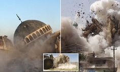 ISIS demolish ancient mosques and temples in western Iraq