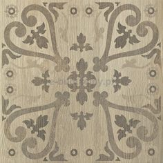 House beige inserto C 45X45cm gresowe matowe