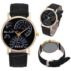 >> Click to Buy << Milky  Men's Leather Band Analog Quartz Business Wrist Watch Reloj  JAN20 #Affiliate