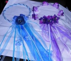 Making one for Ella =) Little Girl Crafts, Crafts For Girls, Diy And Crafts, Fairy Crown, Fairy Wands, Fairy Crafts, Fairy Birthday Party, Flower Girl Hairstyles, Craft Show Ideas