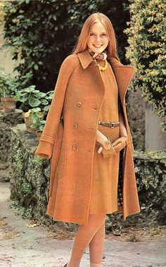 1974 autumn fashion, Classy / classics never go out of fashion. See this gorgeous warm coloring at http://www.style-yourself-confident.com/color-analysis-warm.html