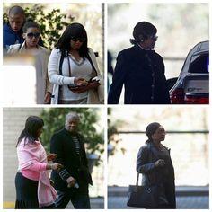 Familiares del líder sudafricano, incluidas sus hijas, sus nietos y su ex esposa, visitaron en el hospital de Pretoria a Nelson Mandela, quien se encuentra en estado crítico. Fotos: Reuters