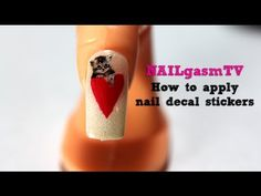 http://www.NAILgasmTV.com - Learn how quick and easy it is to apply nail decal stickers in this episode of NAILgasmTV.    Want to watch the entire NAILgasm: The Nail Art Documentary? Visit http://www.NAILgasmDoc.com    YouTube subscribers get 10% off NAILgasm orders at http://nailgasm.bigcartel.com (use code NAILgasmTV at checkout)    Thank you for wa...
