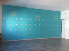 Yoga Wall at YOGAndo in Turin.