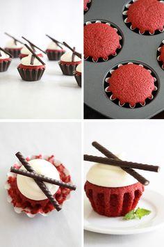 Classic Red Velvet Cupcakes | Sprinkle Bakes