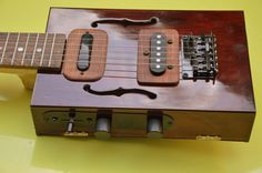 Cooliest 4 string Cigarbox gitar - Google Search