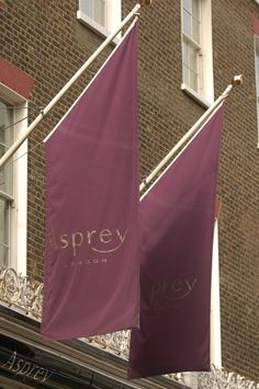 Asprey London flags produced by House of Flags