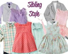 Love these 7 Easter Outfits For Sister & Brothers from @Corine Ingrassianne