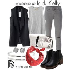 Q: WHAT DISNEY CHARACTER MAKES YOU SMILE? A: Jack Kelly from the Newsies! He inspires me to try and make a change. To stand up and fight for my rights in this world. No matter who tries to push me down, to push back and keep trying. -...