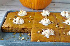 Sheet Pan Pumpkin Pie Pancakes