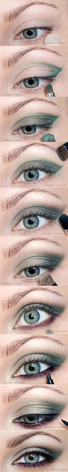 Makeup Tips and Tutorials For Girls With Green Eyes By Makeup Tutorials. For more great makeup tips, check out makeuptutorials.com