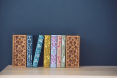 Our beautifully handcrafted bookends are the perfect addition to any bookshelf.