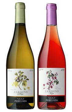 Jardins Blanc y Rosé, los dos nuevos vinos de Castillo Perelada #taninotanino #vinosmaximum