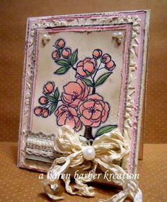 SO SHABBY CHIC! by Karen B Barber - Cards and Paper Crafts at Splitcoaststampers