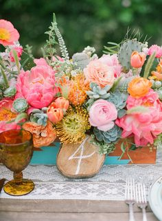 Photography: Bryce Covey Photography - brycecoveyphotography.com Coordination, Design + Paper Design: Bash, Please - bashplease.com/ Floral Design: Primary Petals - primarypetals.squarespace.com/  Read More: http://www.stylemepretty.com/2013/07/30/ojai-wedding-inspiration-from-bash-please-primary-petals-bryce-covey-photography/