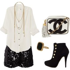 Hot outfit for a night out!