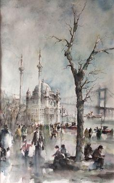 Işıl Özışık Suluboya Resim İstanbul