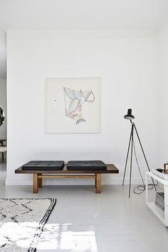 joanna laisto home / Stylish Scandinavian Apartment With A Mid-Century Vibe | DigsDigs