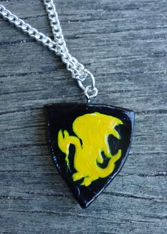 Pendragon Shield Necklace - Merlin BBC Inspired. $12,00, via Etsy.