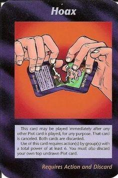 Illuminati Card Game -Hoax