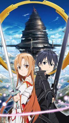 http://wallpaperformobile.org/16640/sword-art-online-wallpaper-android.html - Sword Art Online Wallpaper Android