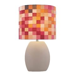 Check out the Lite Source Reiko 1 Light Table Lamp in Latte