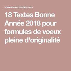 18 Textes Bonne Année 2018 pour formules de voeux pleine d'originalité