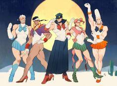 manga mashup sailor moon jojo's bizarre adventure France Info