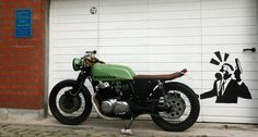 1977 Honda CB750 F2 brat: Finished?!