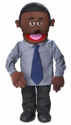 "30"" Calvin Puppet Black"