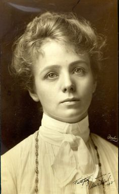 Maude Adams 1872 - 1953. 80; celebrated stage actress in the 1890s and early 1900s in the US. in fact the highest paid theatre star of her epoch, with a yearly income of more than one million dollars during her peak. Photo taken in 1897.