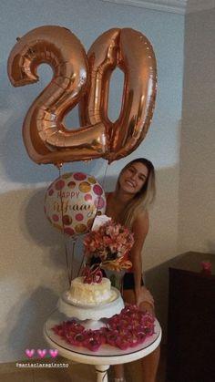 Happy Birthday Decor, Birthday Party Decorations Diy, Birthday Party For Teens, 18th Birthday Party, Diy Birthday, Cute Birthday Pictures, Hippie Birthday, Birthday Fashion, Barbie Party