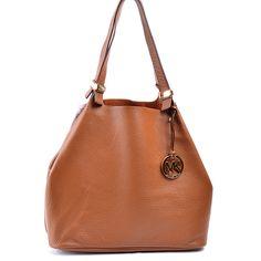 Chateau Le Beau - Michael Kors Colgate Grab Bag in Luggage, Originally: $298, Now: $208.95